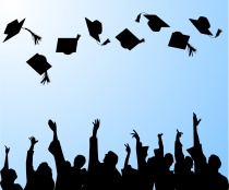 Photo of graduation.