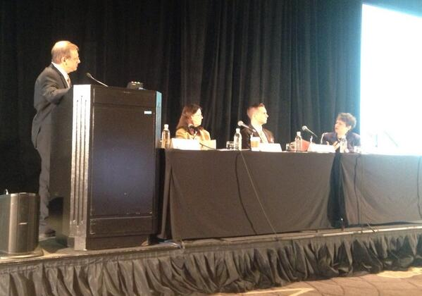 Here's the DTC panel in action last week!